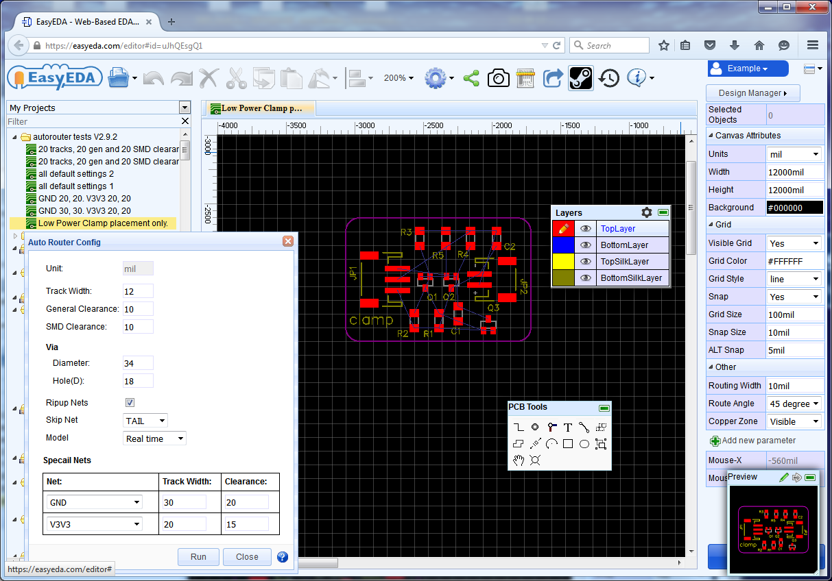 All About A Simple And Powerful Electronic Circuit Design Tool Program Easyeda