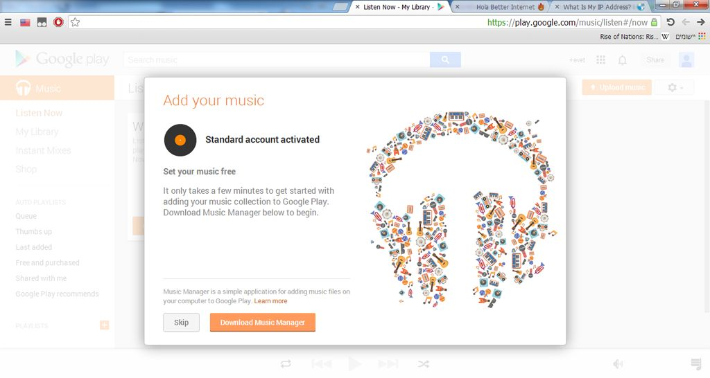 Upload your music to the HWzone