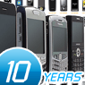 Photo of Decade of Cellular Devices - From an Ugly Block to a Touchy Sexy