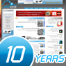 Photo of the computer site celebrates a decade!