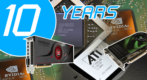 Photo of From nuclear reactors to nuclear reactors - a decade of video cards