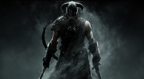 Photo of the fifth title in the review - The Elder Scrolls V: Skyrim