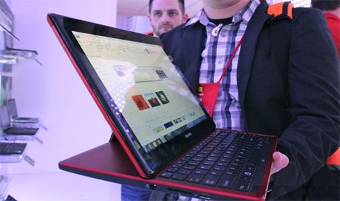 Photo of Toshiba shows the Portege M930