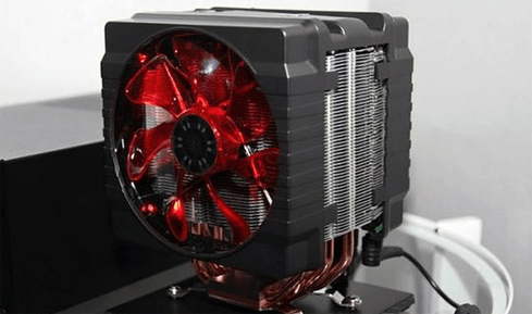 Photo of Cooler Master with surprising heat sinks at CES