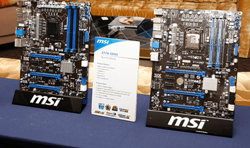 Photo of MSI introduces first Z77 boards