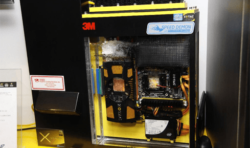 Photo of Zotac introduces a unique evaporative cooling system