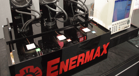 Photo of Enermax shows a terrific power supplier