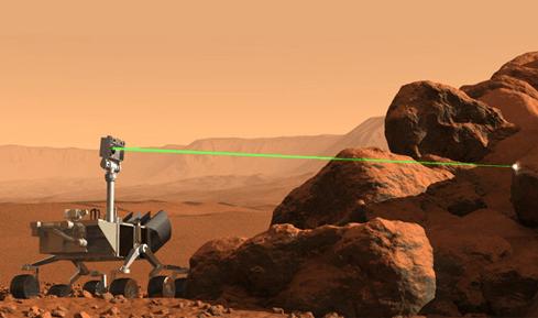 Photo of הקיוריוסיטי יורה קרן לייזר ראשונה במאדים