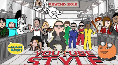 Photo of YouTube summarizes the year 2012: a year filled with video