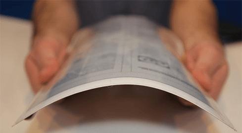Photo of PaperTab – טאבלט דק כנייר המבוסס על דיו אלקטרונית