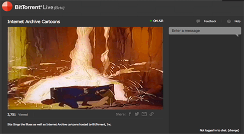 Photo of BitTorrent Live: Stream video on its way to a lucrative business model