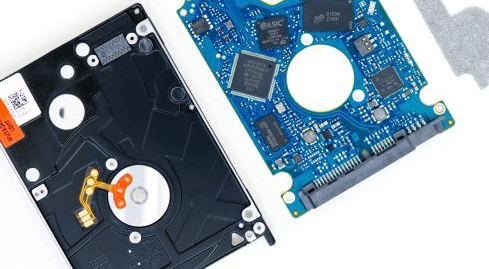 Photo of the Seagate Hybrid Drive Revolution