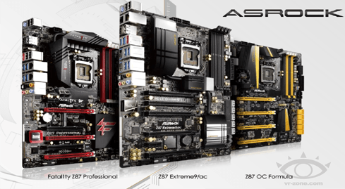 Photo of the first glimpse of the new generation of ASRock motherboards