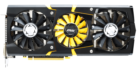 Photo of MSI Lightning GTX 780 - Lightning on a clear day
