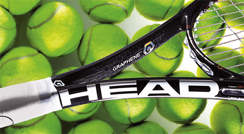 Photo of Tennis racket from the world's strongest material