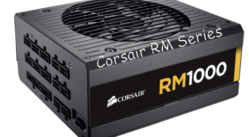 Photo of Corsair's new supplier team, the RM Series