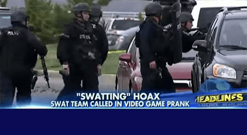 Photo of מתיחה של שחקן COD הקפיצה יחידת SWAT