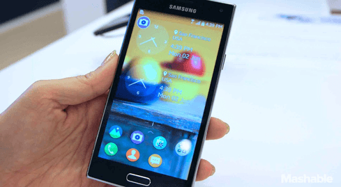 Photo of Samsung unveils Galaxy Z: smartphone of a different kind
