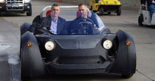 Photo of Printer Fuel: First Real Car From 3D Printed Parts