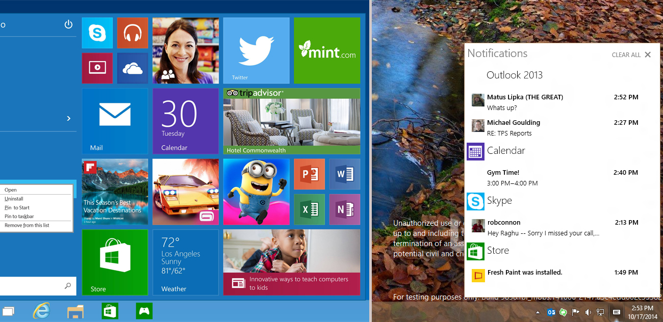Photo of Microsoft introduces first update to 10 windows