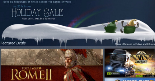 Photo of Steam Holiday Sale 2014: Another Holiday of Big Gamer Deals (Updated)