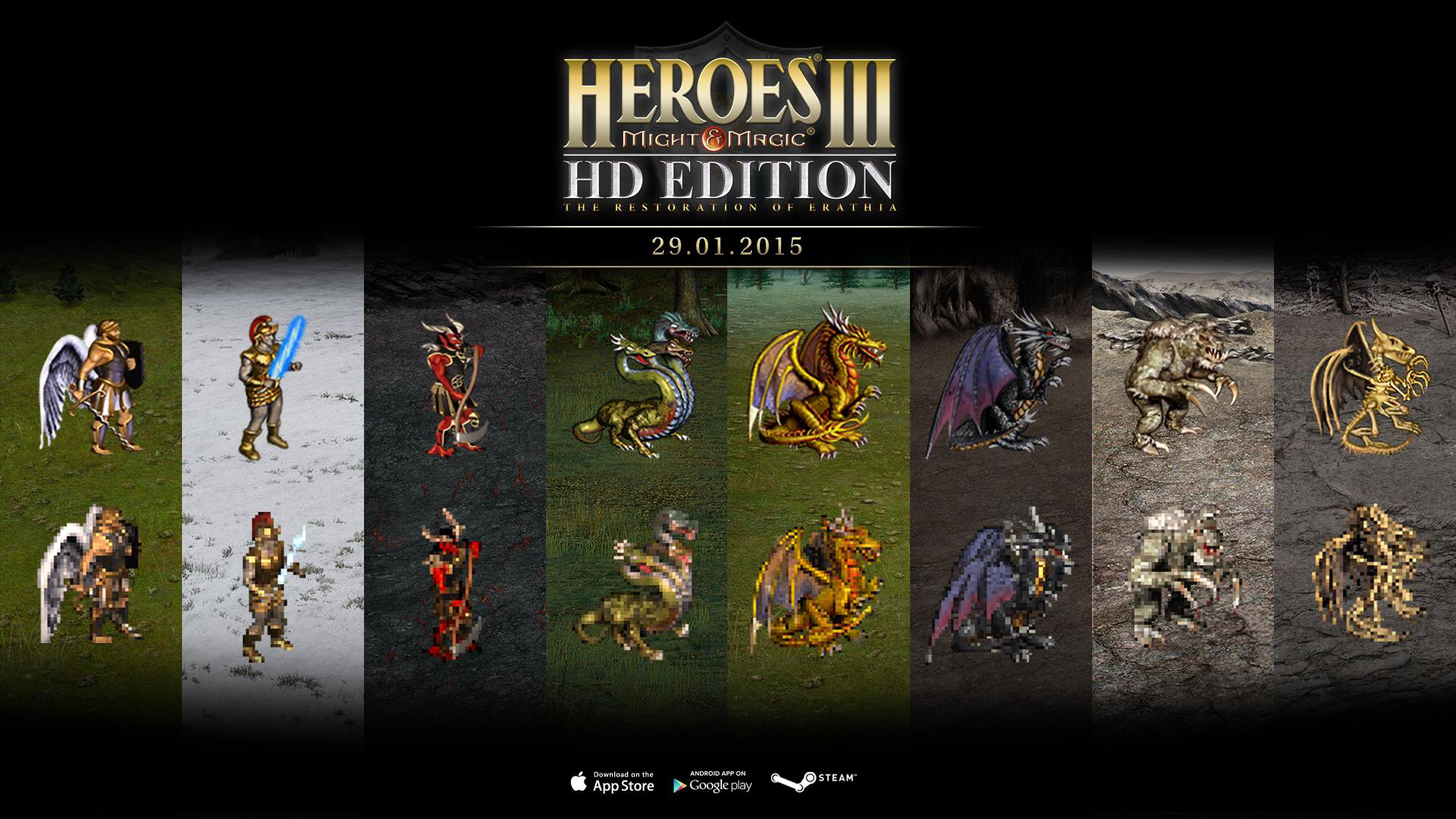 Photo of Heroes of Might and Magic 3 returns in HD - with surprise
