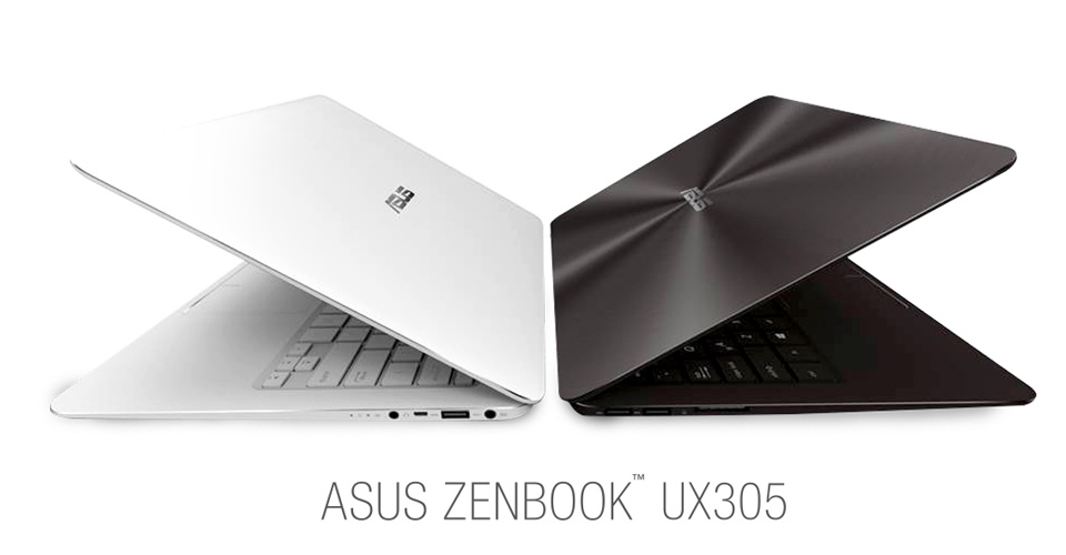 The UX305 is one of the few devices on the market that gives you a choice between a touch screen (with a glossy finish) and a standard screen (with matte finish)
