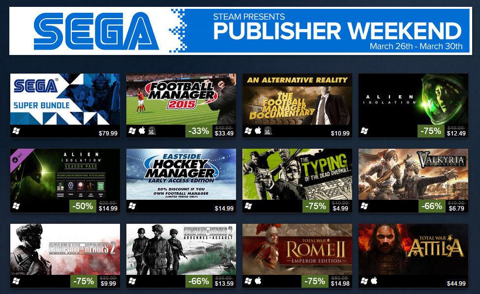 Photo of Aliens, Generals, Soldiers and Sonic: Huge promotions on all of Sega's games on Steam
