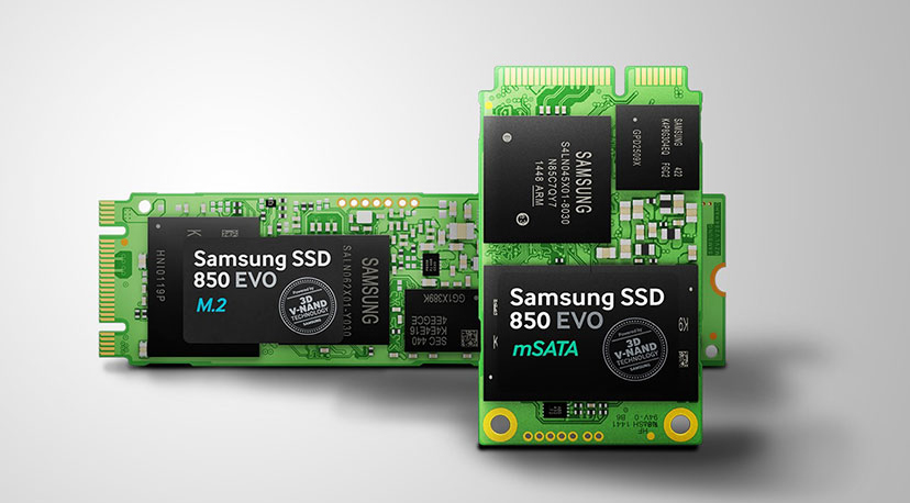 Photo of Samsung EVO 850 Drives - Now in M.2 and mSATA Compact Versions