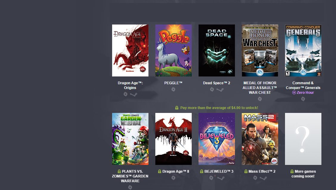 Photo of EA sells you cheap basil games - and the money goes fully to donations