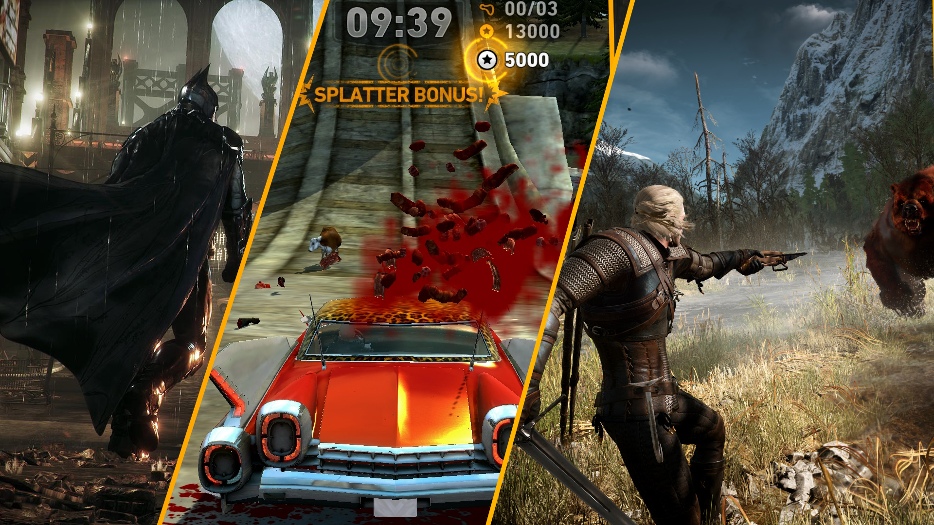 Photo of The Witcher 3 מזדהב, Carmageddon נדחה ו-Arkham Knight בדרך