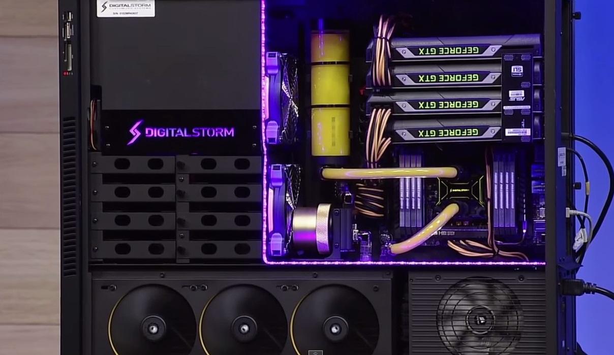Digital Storm Titan X 4-Way SLI
