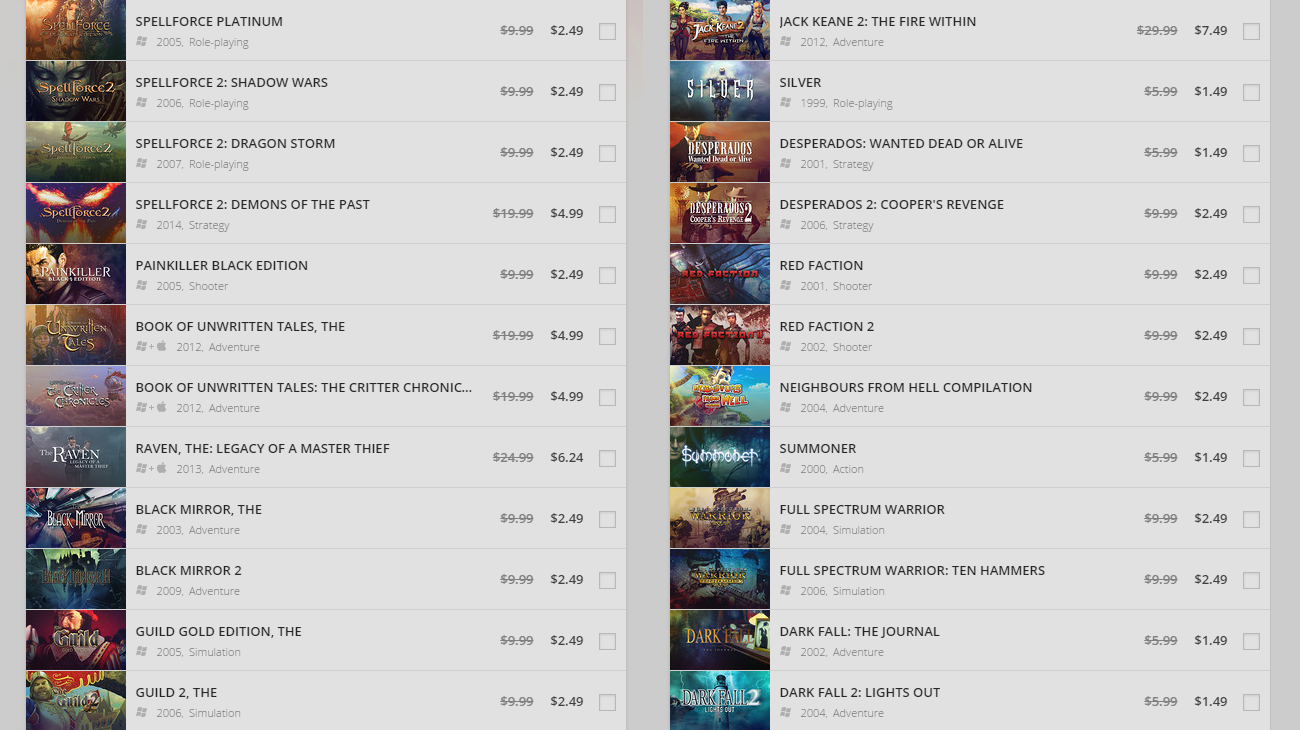 Photo of great games you may not have known, now at GOG.com Store Discounts