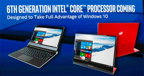 Photo of No wires and no compromises: Intel's vision for Skylake