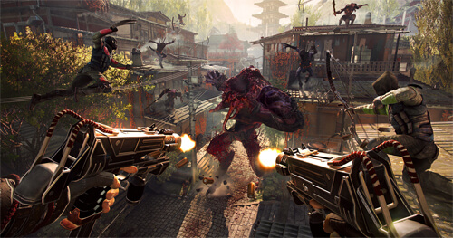 Photo of Watch: 15 Minutes of Swords, Guns and Demons from Shadow Warrior 2