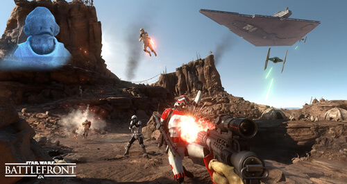 Photo of Watch: Star Wars Battlefront will be your Hollywood appetizer this November