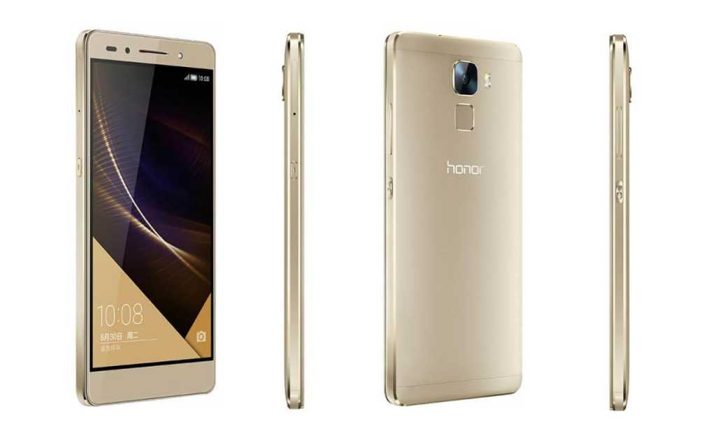 The Honor 7 will be characterized by a reasonable thickness of 8.5 millimeters, along with a weight of about 157 g