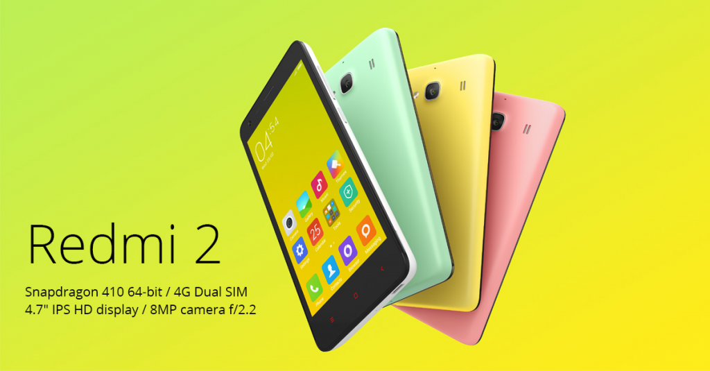 The Redmi 2 has been offered in a number of serious versions over the past year, and all of them have been very worthwhile, without exception