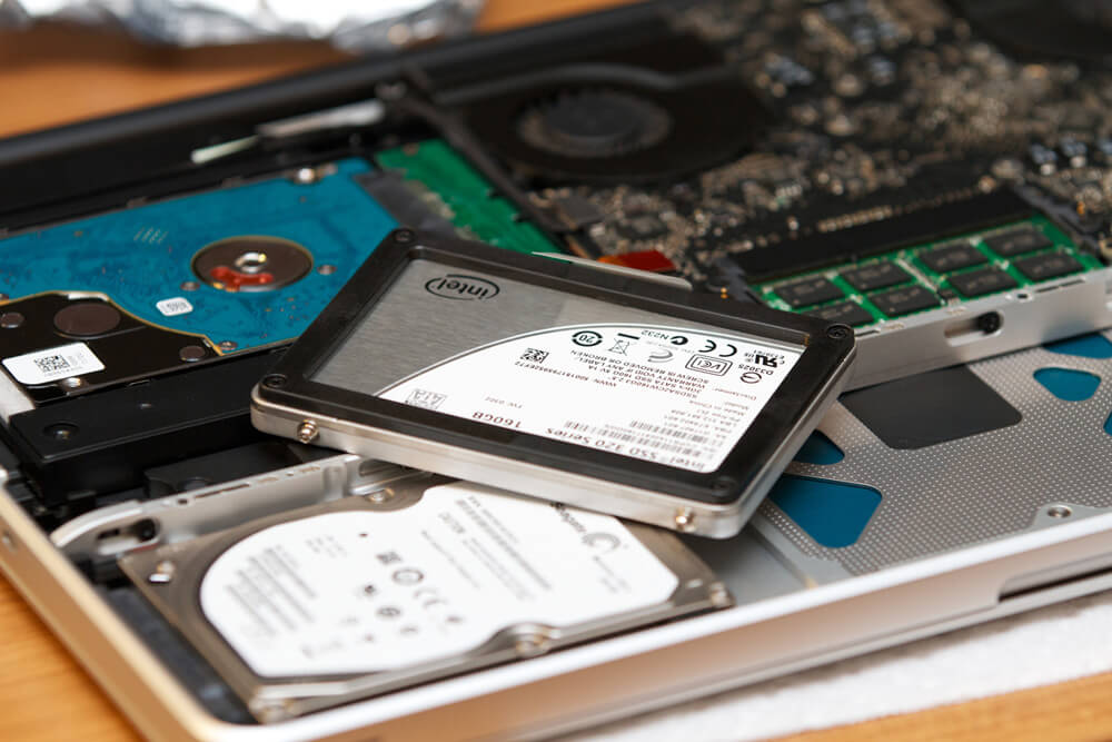 Photo of Way Up: One-third of laptops sold today include SSDs