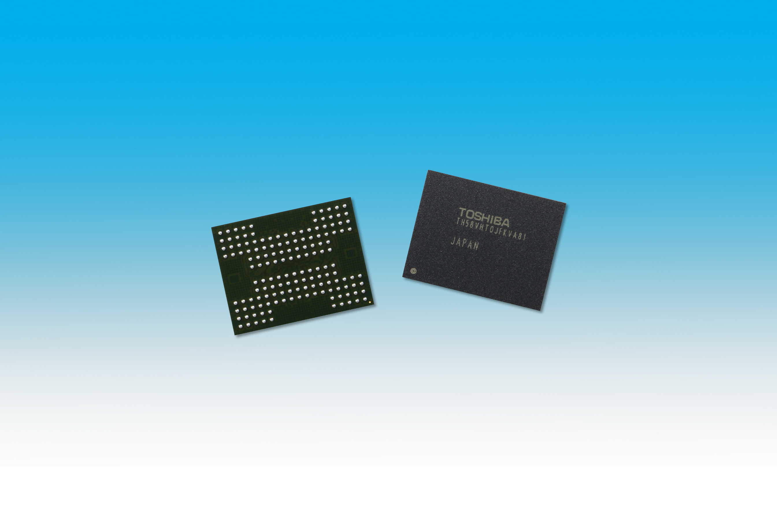 Photo of Toshiba's TSV technology will allow us to get enhanced SSDs, even with planar chips