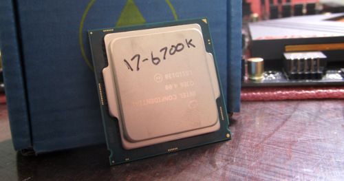 Photo of Core i7 6700K Processor in Criticism - Get to know Skylike