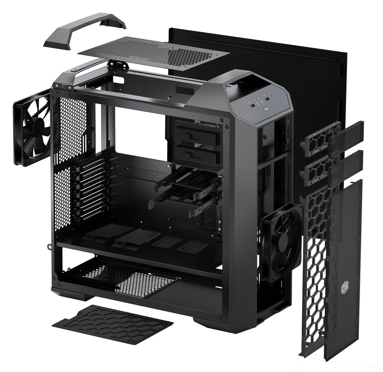 Photo of Master Chase MasterCase 5 Chassis in Review: The Mid Tower Elite