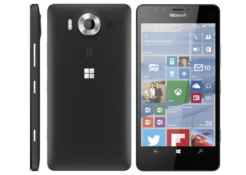 ה-Lumia 950 המיועד
