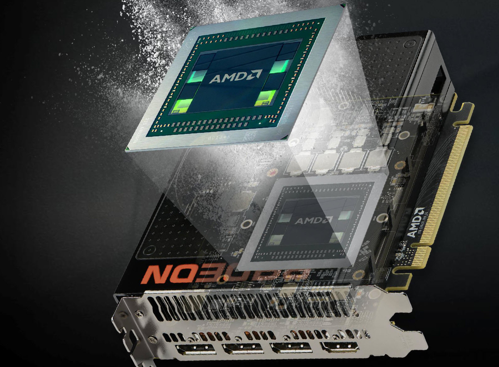 Photo of AMD's Radeon R9 Nano card launched