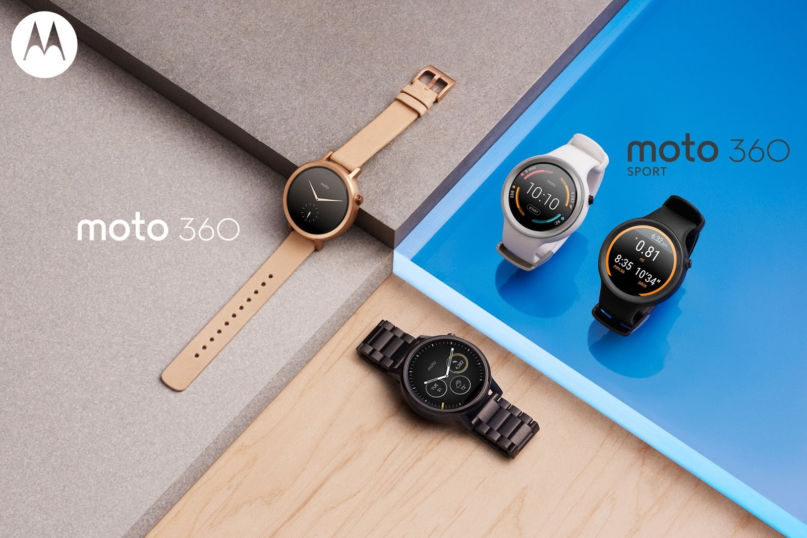 Photo of the 360 family: Motorola's smart watch has become much more diverse