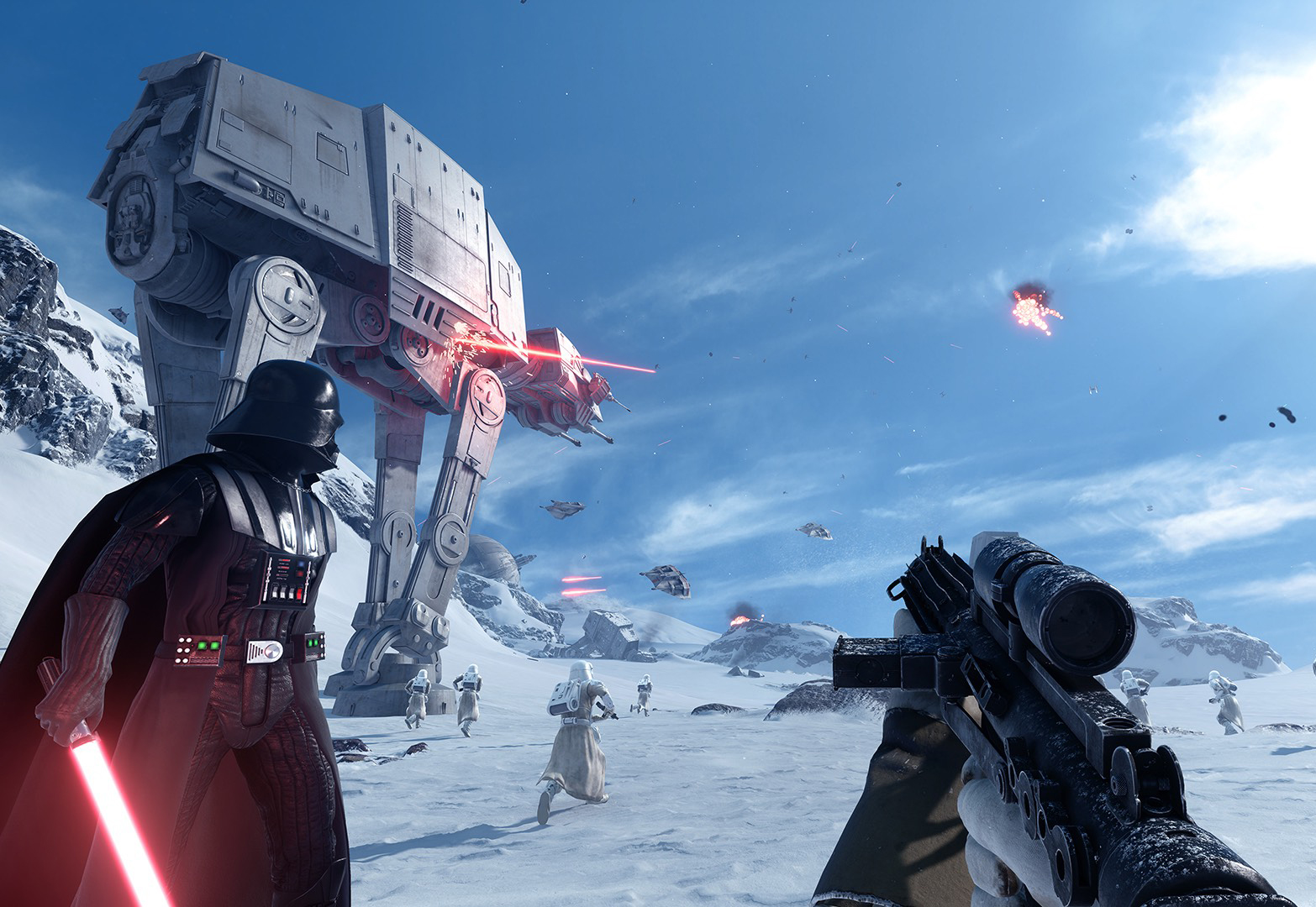 Photo of stunning or boring? New Star Wars Battlefront Video Game (Updated)