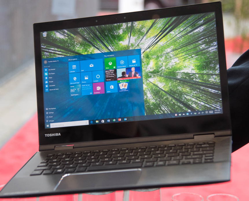 Photo of Toshiba's new laptop offers you 4K in ultra-compact packaging