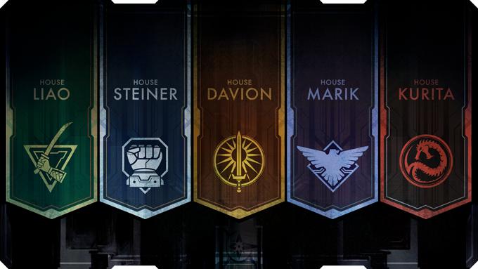חמשת הארגונים (או הצבאות, אם תרצו) שיהווה חלק מעולם המשחק של BattleTech