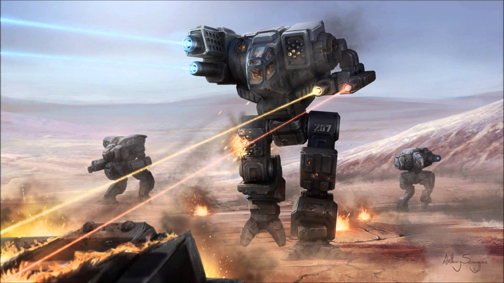 Photo of the big comeback of the giant robots