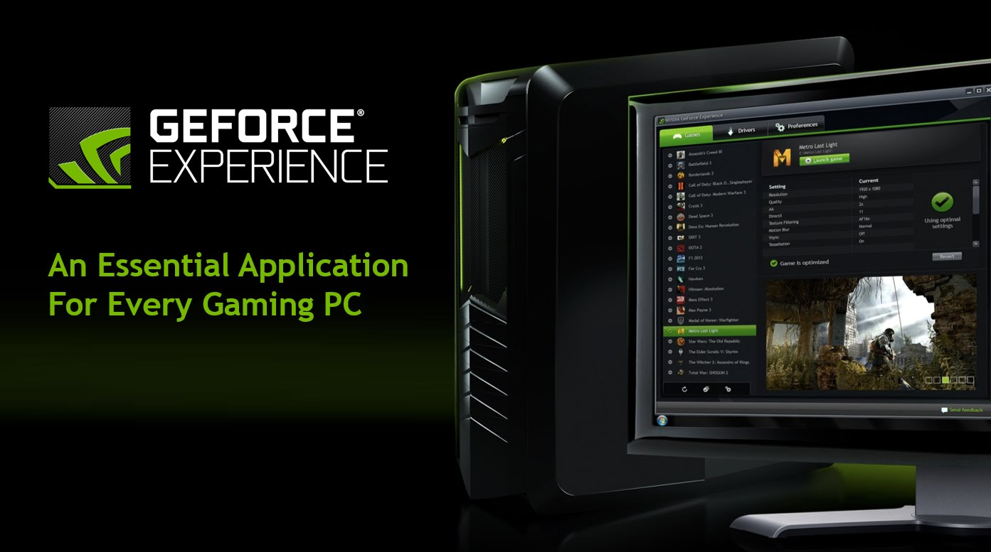 Photo of latest games drivers? Only through the GeForce Experience